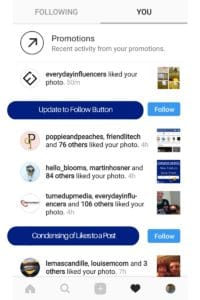 Instagram Notifications